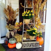 Thanksgiving Front Porch Spruce Up!